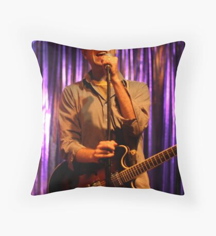 Lead Singer Throw Pillow