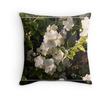 Scented summer flowers Throw Pillow