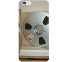 Jimi Hendrix studio master tape reel,open box iPhone Case/Skin
