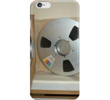 Jimi Hendrix studio master tape reel,open box iPhone Case/Skin