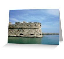 Seaside Fort Greeting Card