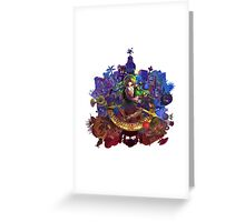 The Legend of Zelda Majora's Mask 3D Artwork #3 Full Cover Greeting Card