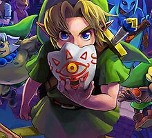 The Legend of Zelda Majora's Mask 3D Artwork #3 Full Cover by estatheesploso