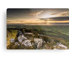 Sunset from Binevenagh Metal Print