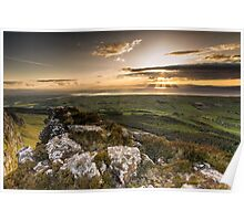 Sunset from Binevenagh Poster