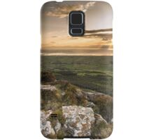Sunset from Binevenagh Samsung Galaxy Case/Skin