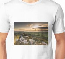 Sunset from Binevenagh Unisex T-Shirt