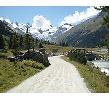 Roseg, Switzerland Photographic Print