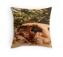 """""""Out To Pasture"""" Throw Pillow"""