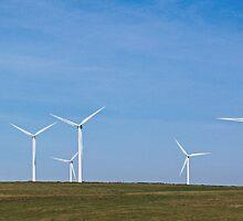 Dunlaw Wind Farm by Brian Innes