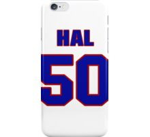 National football player Hal Herring jersey 50 iPhone Case/Skin