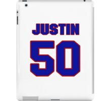 National football player Justin Houston jersey 50 iPad Case/Skin