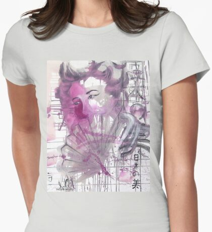 Elusive Beauty Womens Fitted T-Shirt