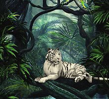 Deep In The Jungle by Lisa  Weber