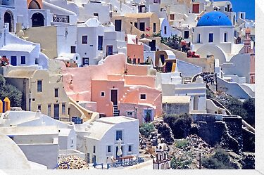 Oia Colors by Walter Quirtmair