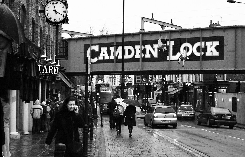 Every day in the life of Camden Lock  by Jacqueline Baker