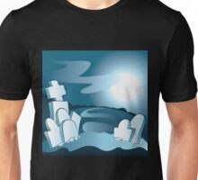 Cartoon cemetery Unisex T-Shirt