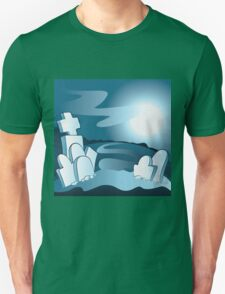 Cartoon cemetery T-Shirt
