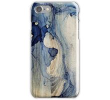 Blue smoke iPhone Case/Skin