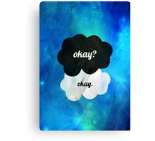 THE FAULT IN OUR STARS - JOHN GREEN Canvas Print