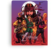 The Legend of Zeppelin Canvas Print