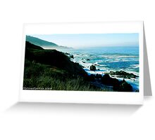 #531   Pacific Coastline Greeting Card
