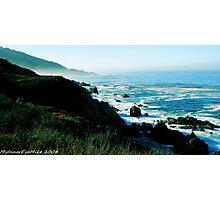 #531   Pacific Coastline Photographic Print