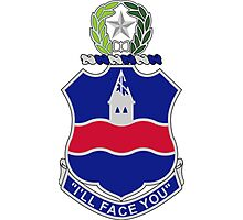 142nd Infantry Regiment - I'll Face You Photographic Print
