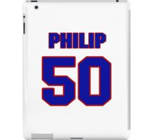 National football player Philip Wheeler jersey 50 iPad Case/Skin