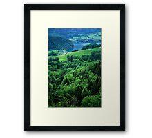 Lake Wolfgangsee Framed Print
