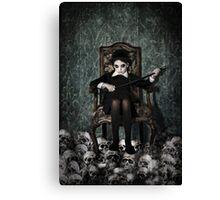 Queen of Skulls Canvas Print