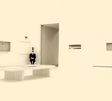 La gardien du musée by Alex Grisward
