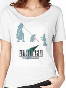 Final Fantasy VII The Sacrifice Of Cloud Women's Relaxed Fit T-Shirt