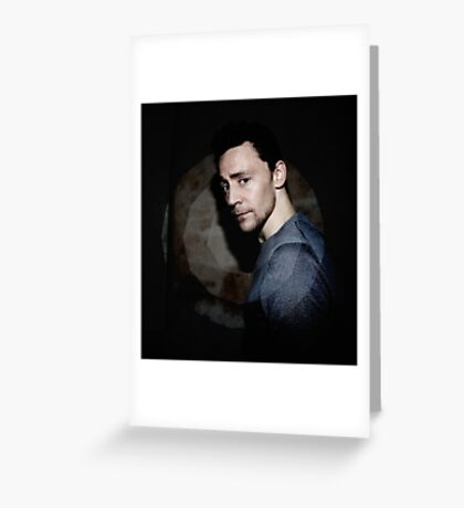 Hiddleston in Spotlight Greeting Card