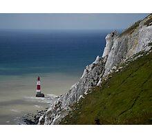 Lighthouse, Beachy Head Photographic Print