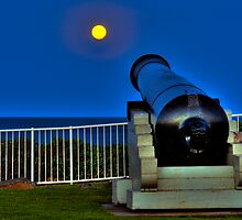 Shooting the moon by Stephen Balson