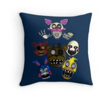 Five Nights Throw Pillow