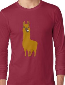 Llama is cool Long Sleeve T-Shirt