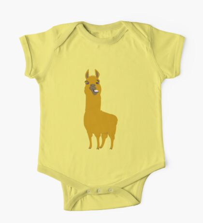 Llama is cool One Piece - Short Sleeve