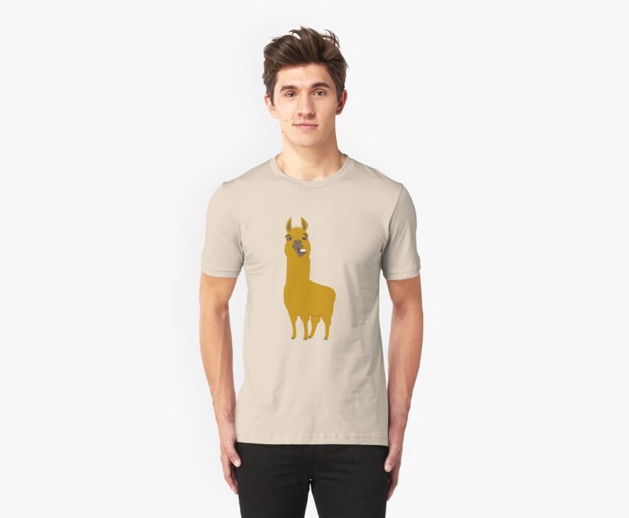 Llama is cool by Ara mink