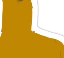 Llama is cool Sticker