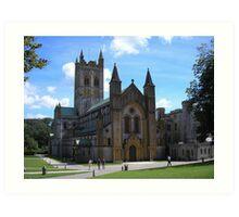 Buckast Abbey, Buckfastleigh, Devon Art Print