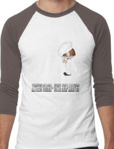 KITCHEN CLOSED - UNTIL HELP ARRIVES Men's Baseball ¾ T-Shirt