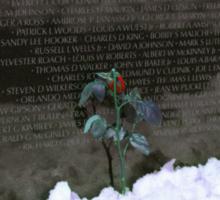 Vietnam Veterans Memorial 3 Sticker
