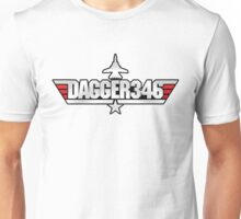 Custom Top Gun - Dagger346 Unisex T-Shirt