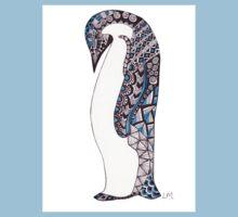 Pattern Penguin Kids Tee