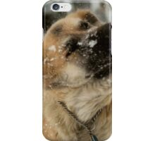 I got snow up my nose Momma! Blergh! iPhone Case/Skin