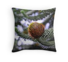 Monkey Puzzle at Dawyck Throw Pillow