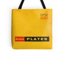 Vintage Kodak Plates Tote Bag
