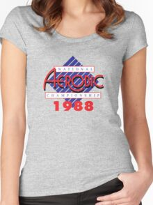 1988 National Aerobic Championship Women's Fitted Scoop T-Shirt